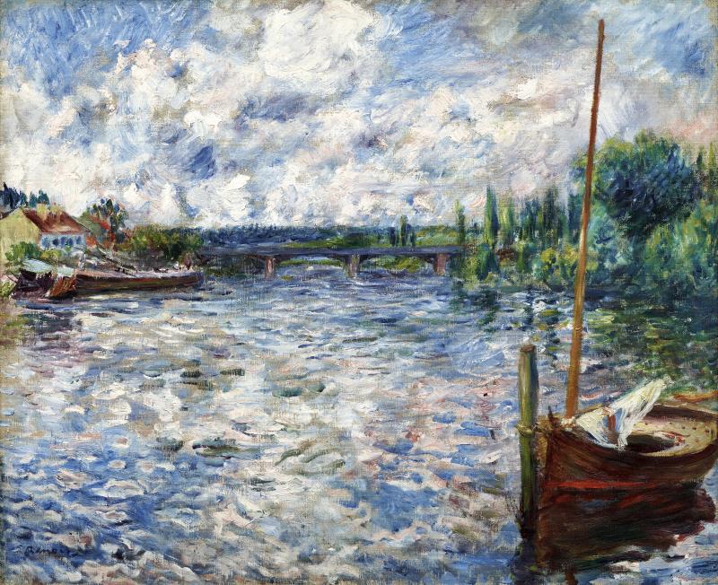 La Seine à Chatou, 1874
