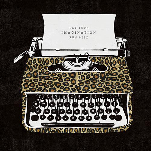 Analog Jungle Typewriter