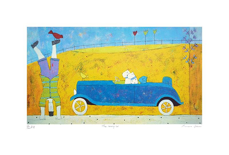 The racing car (A.P)