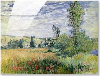 Landscape at Vetheuil, c.1880