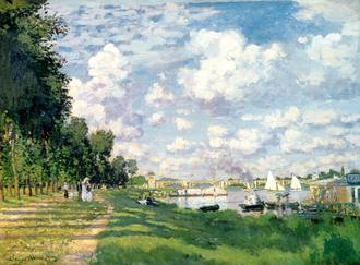 The Marina at Argenteuil, 1872