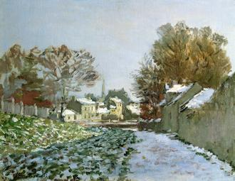 Snow at Argenteuil, 1874