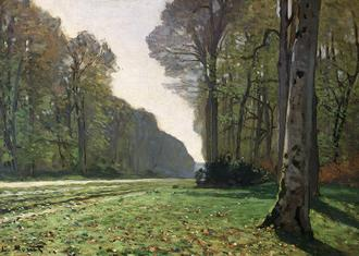 The Road to Bas-Breau, Fontainebleau(Le Pave de Chailly), c.1865