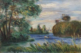 River Landscape, 1887