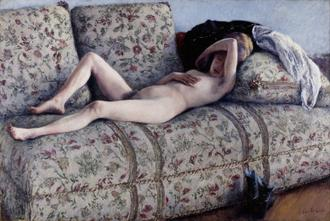 Nude on a Couch