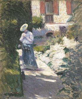Study for Les Dahlias, jardin du Petit Gennevilliers