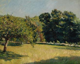 Un Jardin à Trouville