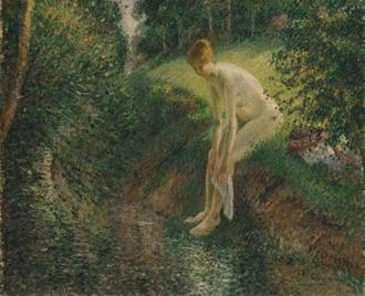 Bather in the Woods