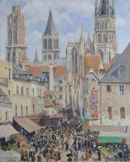 Rue de l'Épicerie, Rouen (Effect of Sunlight)