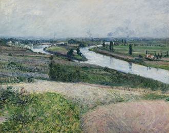 La Seine a la Pointe d'Epinay