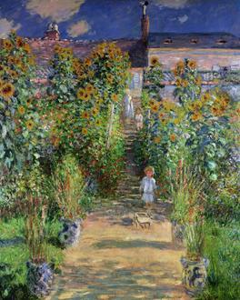 The Artist's Garden at Vetheuil, 1880(베퇴유 정원)
