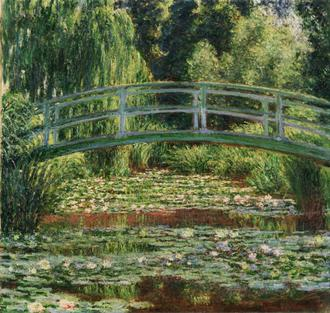 The Japanese Foot bridge And The Water Lily Pool, Giverny(수련과 일본 다리)