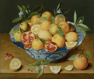 Flemish - Still Life with Lemons, Oranges  and a Pomegranate