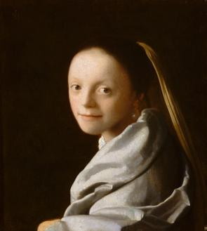 Portrait of a Young Woman (젊은 여인의 초상화)
