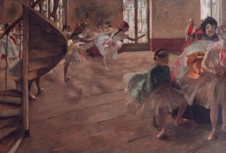 The Rehearsal, 1874