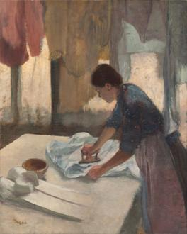 Woman Ironing I