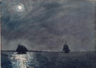 Eastern Point Light, 1880