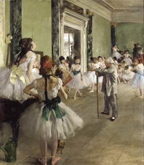 발레 수업 (The Ballet Class)