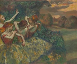 네명의 댄서들 (Four Dancers)