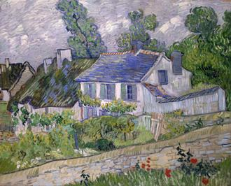 Houses at Auvers, 1890 (오베르의 집들)