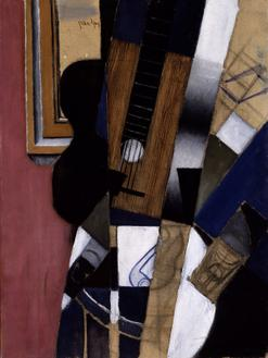 Guitar and Pipe, 1913