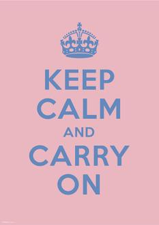 KEEP CALM AND CARRY ON 5