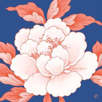 Candy Peony Series 3 Peachy Sapphire