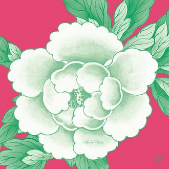 Candy Peony Series 4 Minty Ruby