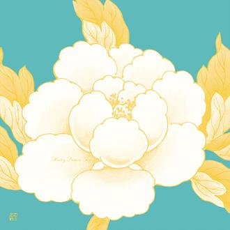 Candy Peony Series 8 Honey Lemon Sky