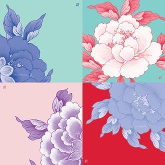 꽃다발 Creamy Mulberry