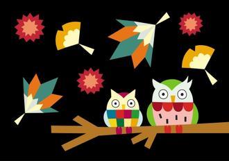 색동 부엉이 The Colorful Owls