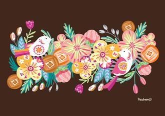 봄 사계의 문