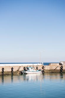 작은배 그리고 넓은 바다