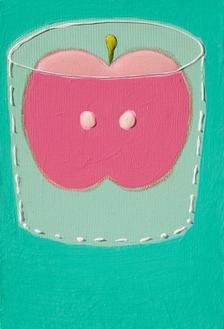성냥을 품은 사과