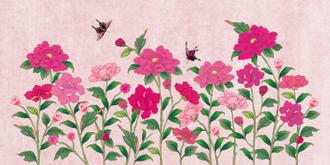 화초밭 초여름_분홍