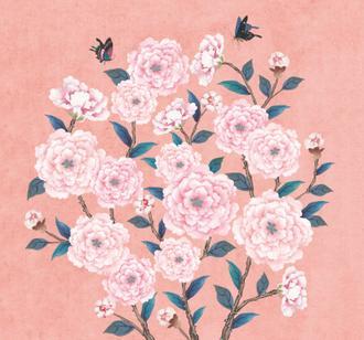 꽃가지 네츄럴_연분홍