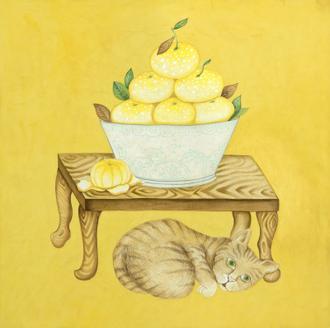 소과도-귤과 고양이