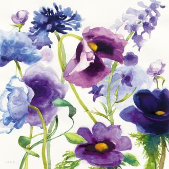 Purple Mixed Garden I