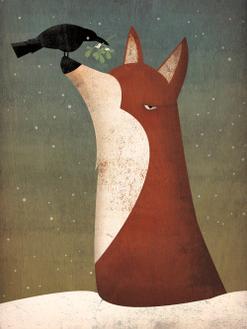 Fox And Mistletoe