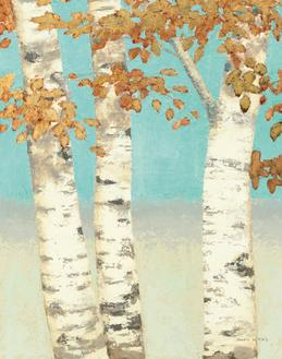 Golden Birches II