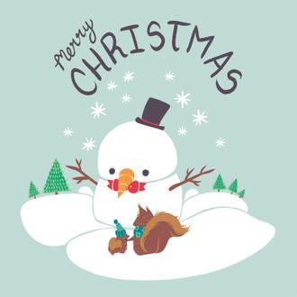 Christmas Critters I