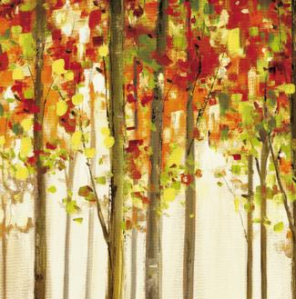 Autumn Forest Study I