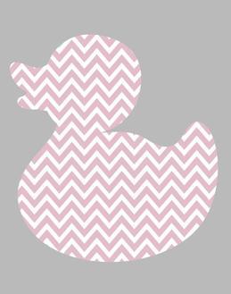 Pink Light Gray 3 Duck