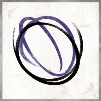 Abstract Circle Purple