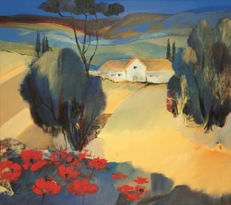 Italian Poppies II
