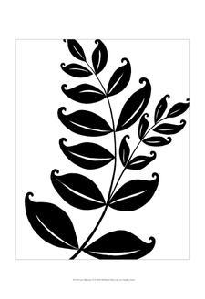 Leaf Silhouette II