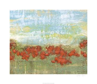 Coral Poppies II