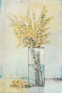 Yellow Spray in Vase I