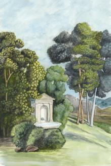Scenic French Wallpaper I