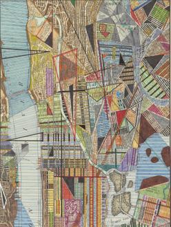 Modern Map of New York I